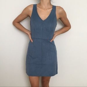 Abercrombie & Fitch suede dress