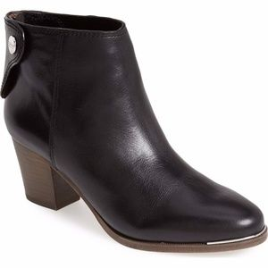 Coach Waldorf Leather Booties