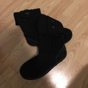 Black candy UGG boots