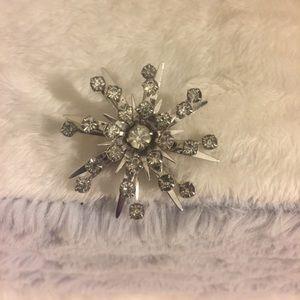 Vintage Starburst Brooch pendant