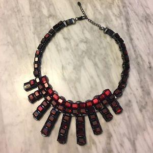 Zara gothic statement necklace