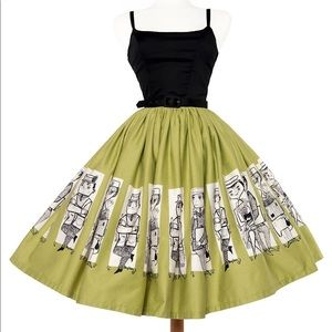 Pinup Girl Clothing Mary Blair Commuter Dress