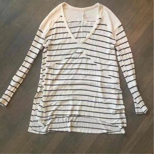NWOT Free People Sunset Thermal Size L