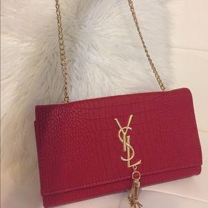 YSL Red Shoulder Bag