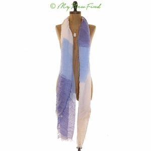 VINCE CAMUTO SPACE DYE LIGHTWEIGHT SHEER SCARF