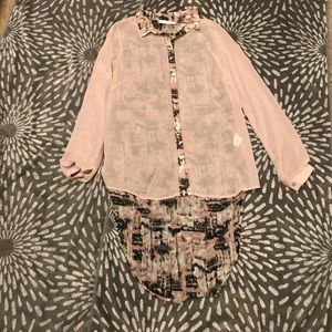 Long sleeve blouse by Lush (Nordstrom)