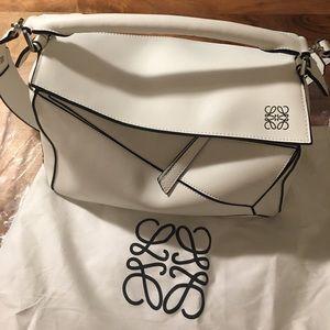 Loewe puzzle bag white