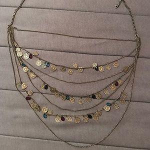 Super cute layered necklace!