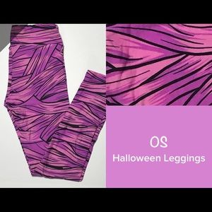 Lularoe OS new Fashionista Mummy Leggings