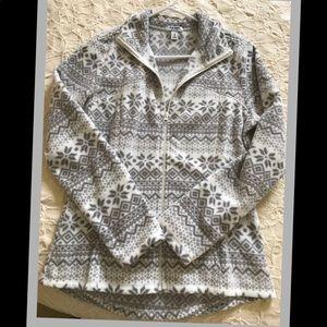 NWOT ⭐️ Old Navy Fleece zip front jacket SZ medium