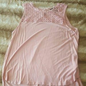 H&M Pink tank top size medium