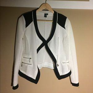 Windsor white blazer jacket