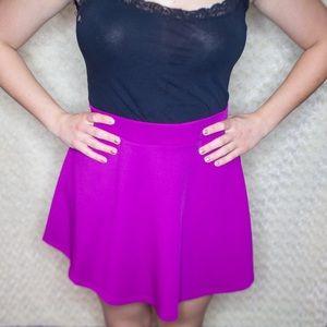 *NEW* Magenta Skater Skirt