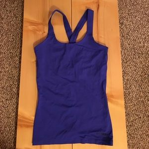 Ivy Park workout tank top with built in bra.