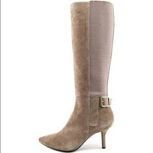 Brand New Calvin Klein Julietta Tan Knee High Boot