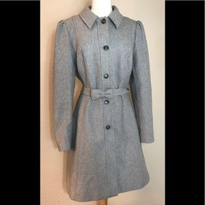 Banana Republic Button Up Trench Winter Coat XL