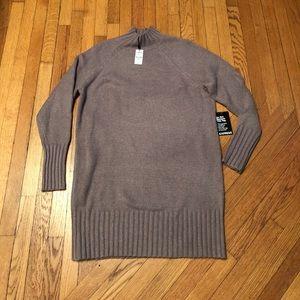 Express Sweater Dress Beige NWT Small