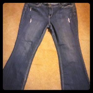 Deb bootcut jeans size 22