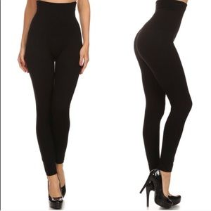 Black High Waist Compression