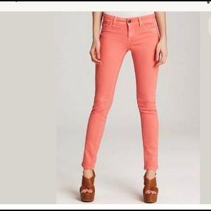 DL1961 Premium Denim 'Amanda' Skinny Jeans (Coral)