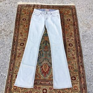 PAIGE light grey Benedict Canyon Jeans size 28