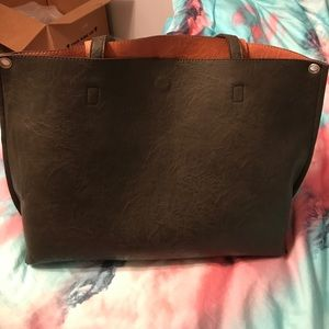 Free People vegan leather bag barely used