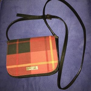 Kate Spade Plaid CrossBody bag
