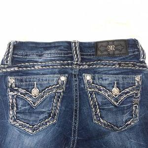 Miss Me Signature Bootcut Sequin Embellish Jeans
