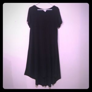 WORN ONCE SOLID BLACK CARLY LLR