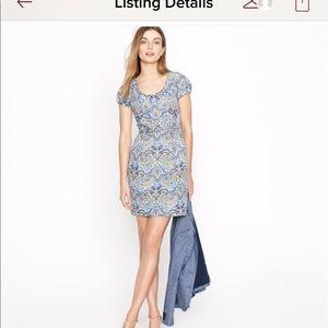 J crew paisley pocket dress