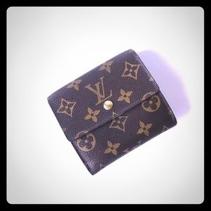 Authentic LV Monogram Elise Bifold Wallet