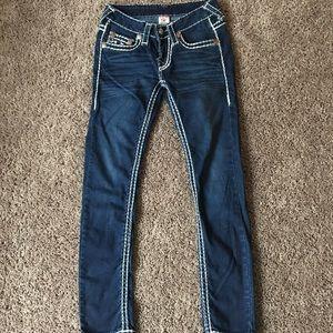 True Religion Thick Stitch Skinny Jeans
