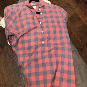 J crew boy fit flannel