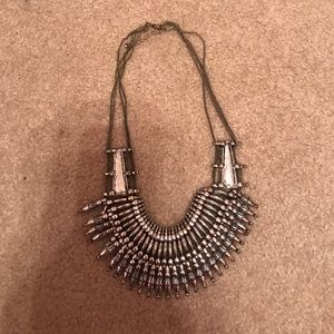 Sliver urban outfitters necklace