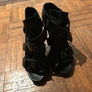 Dolce Vita sexy Italian vero cuoio leather heels