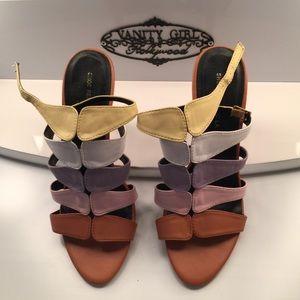 5 Color Strappy Heel