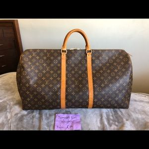 Authentic Louis Vuitton Keepall 60