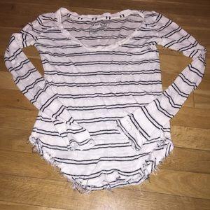 Women's Free People long sleeve striped top