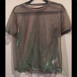Sheer Urban Outfitters T-shirt