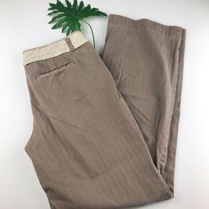 Anthropologie Elevenses Career Flare Pants Size 8