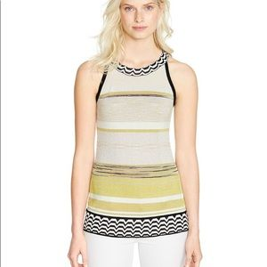 NWT White House Black Market strip halter top