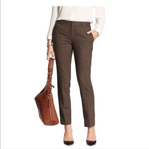 (NWT) Brown Wool Blend Trousers