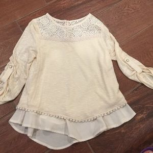 Other - Monteau girls cute top