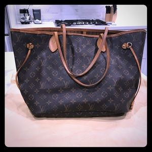 Louis Vuitton Never Full MM Tote