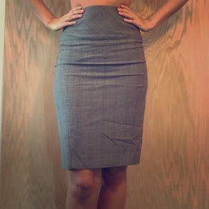 Express studio design grey/pink pencil skirt 💕