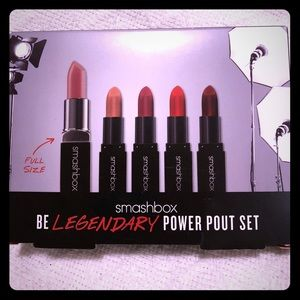 Smashbox BE LEGENDARY: POWER POUT SET ~ Brand new!
