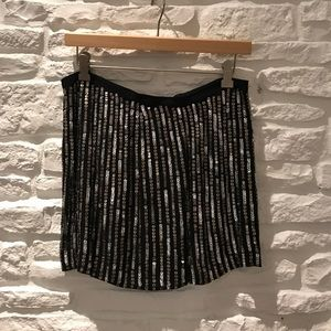 Fabulous sequin Theory mini size 2