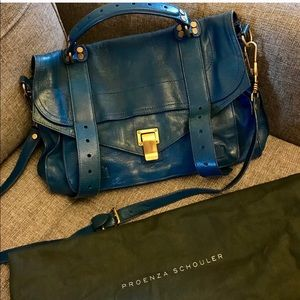 Proenza Schouler PS1 - Peacock Blue