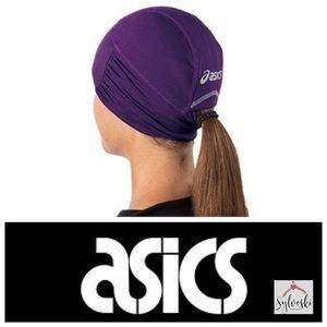 🆕ASICS Felicity Fleece Lined Ponytail Beanie Hat