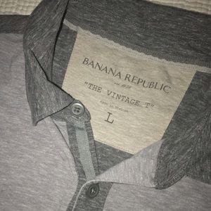 "Banana Republic ""The Vintage T"" Polo"
